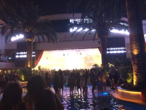 Nelly concert at Drais nightclub in Vegas.