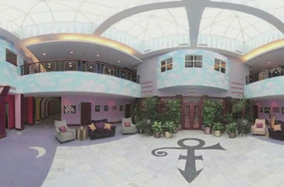 Prince's House in Paisley Park, Minnesota